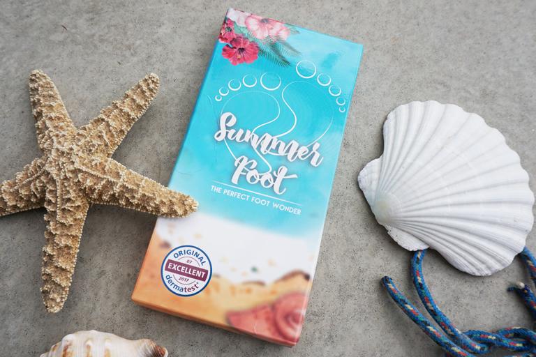 Summer Foot Maske